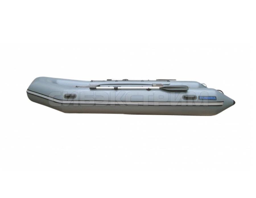 Лодка ПВХ Leader Tundra-380 (цвет серый)