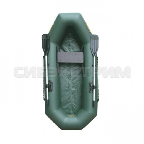 Лодка ПВХ Leader Компакт-220, зеленая