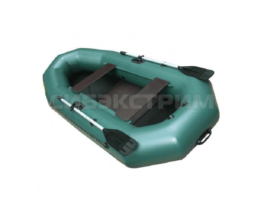 Лодка ПВХ Leader Компакт-265 гребная, зеленый