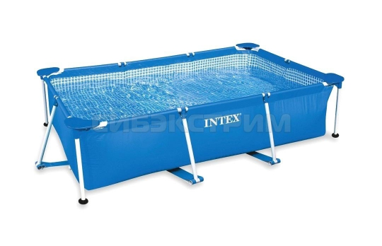 Каркасный бассейн Intex Rectangular Frame 220х150х60