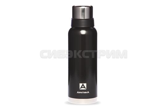 Термос АРКТИКА 106-1200 1,2л (узкое горло) американский дизайн, черный