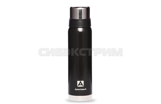 Термос АРКТИКА 106-900 0,9л (узкое горло) американский дизайн, черный