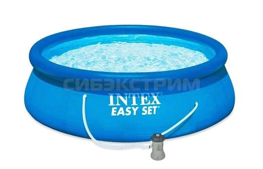 Бассейн Intex EASY SET, 396Х84 см, фильтр-насос