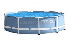 Бассейн INTEX Prism Frame 305х76 насос с фильтром