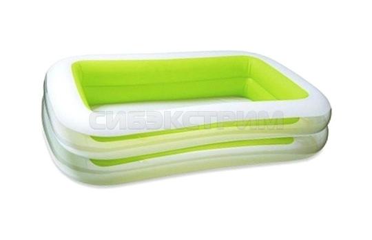 Детский надувной бассейн Intex 262Х175Х56см ванна