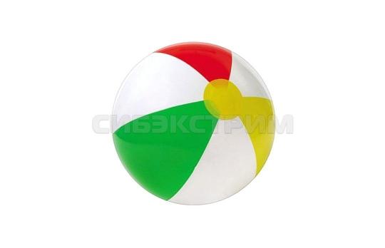 Пляжный мяч Intex глянцевый 51см