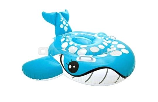 Игрушка для катания по воде Intex Застенчивый кит 160х152