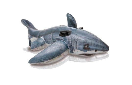 Игрушка для катания по воде Intex Акула 173х107см
