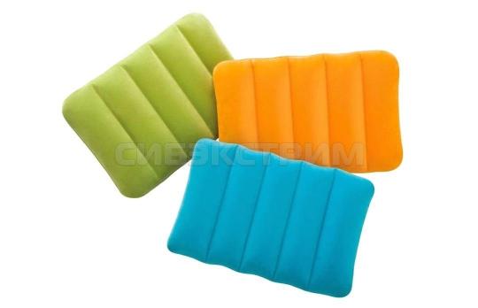 Подушка надувная для детей Intex 43х28х9см