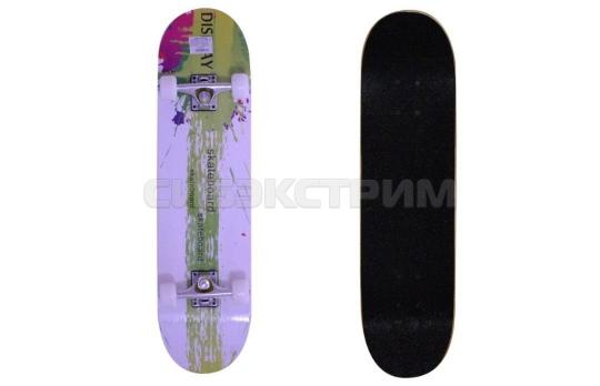 Скейтборд BlackAqua SK-03 салатовый