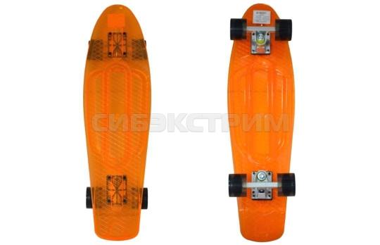 Пенниборд BlackAqua SK-2708PC оранжевый