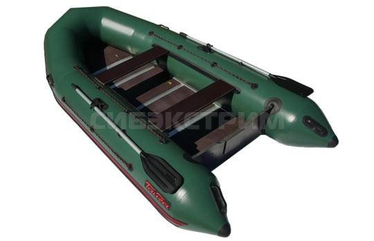 Лодка ПВХ Leader Тайга Nova-340 Киль (зеленый)