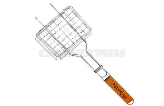 Решетка-гриль BOYSCOUT 150х205х25мм для сосисок и колбасок