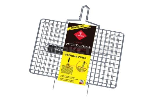 Решётка-гриль FORESTER MOBAIL 22x35 см. съемная ручка