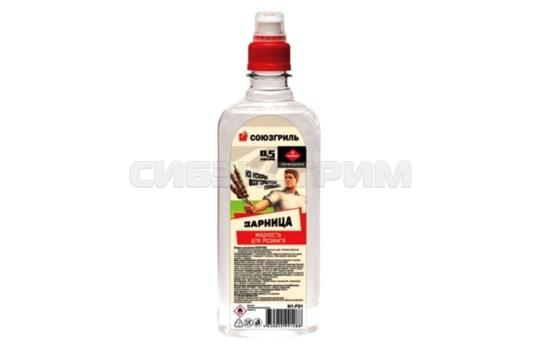 Жидкость СОЮЗГРИЛЬ для розжига 0,5 л с крышкой спорт-лок