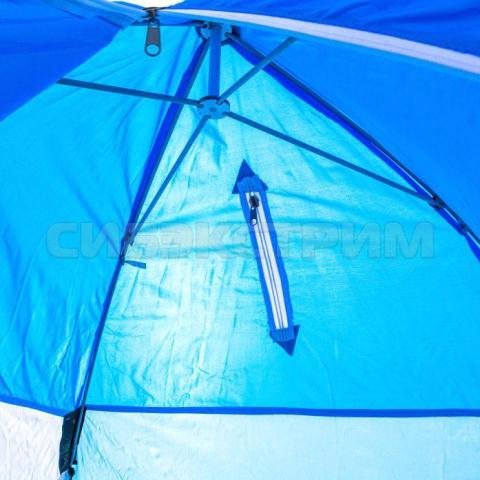 Палатка рыбака Стэк 1-м Классика п/автомат нетканое полотно алюминиевая зведочка