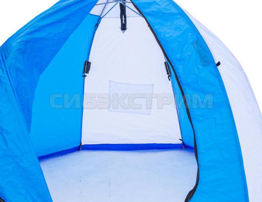 Палатка рыбака Стэк ELITE 2 полуавтомат трехслойная дышащая