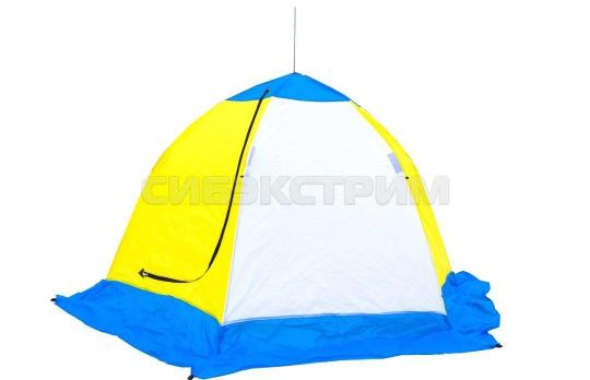 Палатка рыбака ELITE Стэк 3-м п/автомат трехслойная дышащая