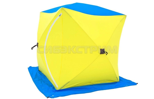 Палатка рыбака КУБ-1 Стэк однослойная 1700 х1500 х 1500 мм