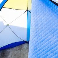 Палатка рыбака Стэк КУБ-3 трехслойная дышащий верх