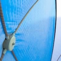 Палатка рыбака Стэк КУБ-3 трехслойная дышащий верх 2050 х 2200 х 2200 мм