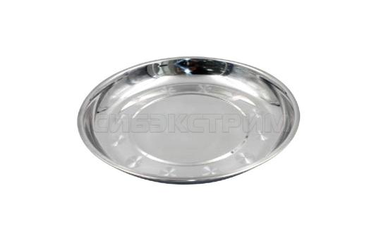 Тарелка СЛЕДОПЫТ нержавеющая сталь д 22 см