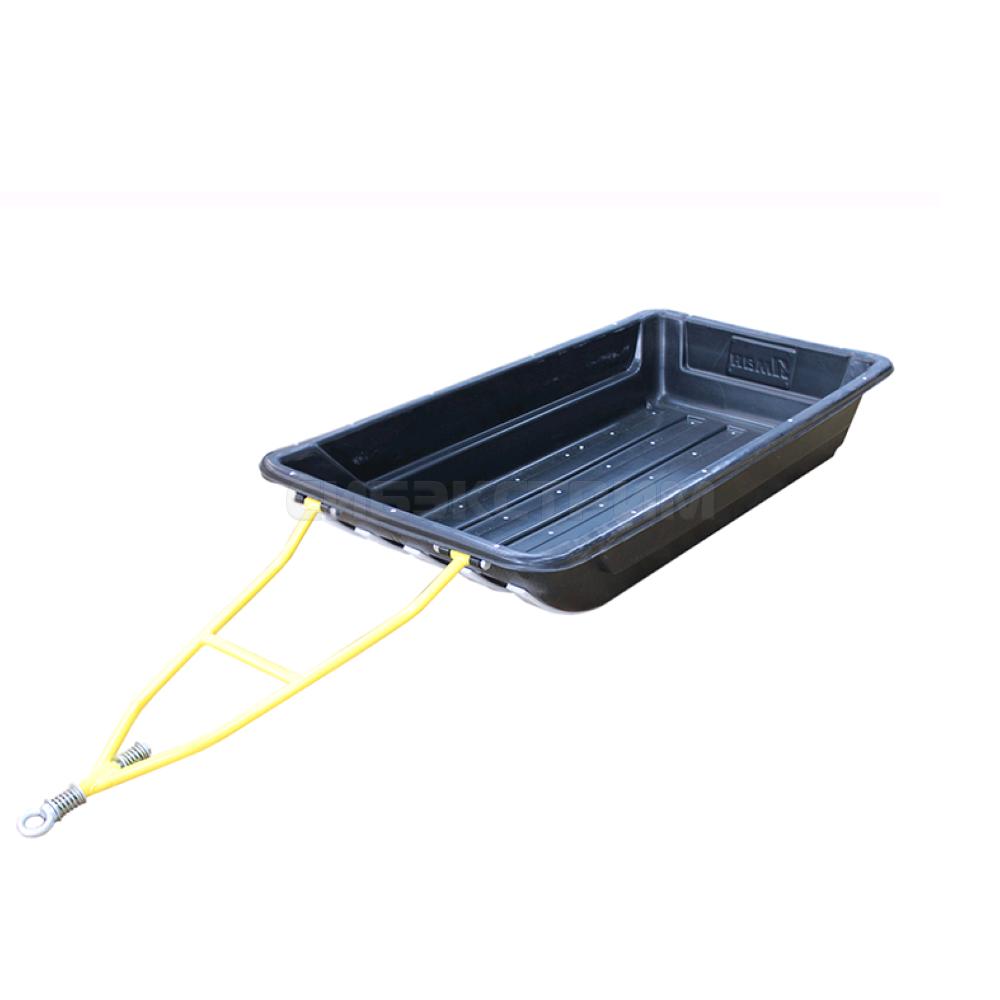 Сани-волокуши ЯМАН Тундра №5 143х73х25 см с обвязкой, накладками и прицепным устройством