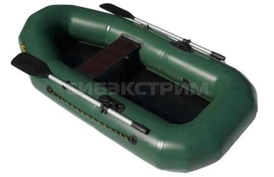 Лодка ПВХ Leader Компакт-210, зеленая