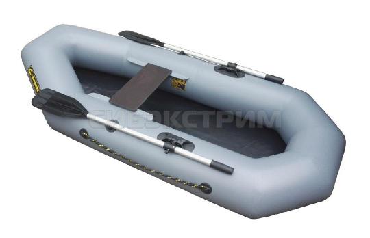 Лодка ПВХ Leader Компакт-220, серый