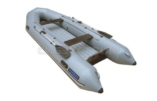 Лодка ПВХ Leader TUNDRA-380 EXTRIM, серый цвет