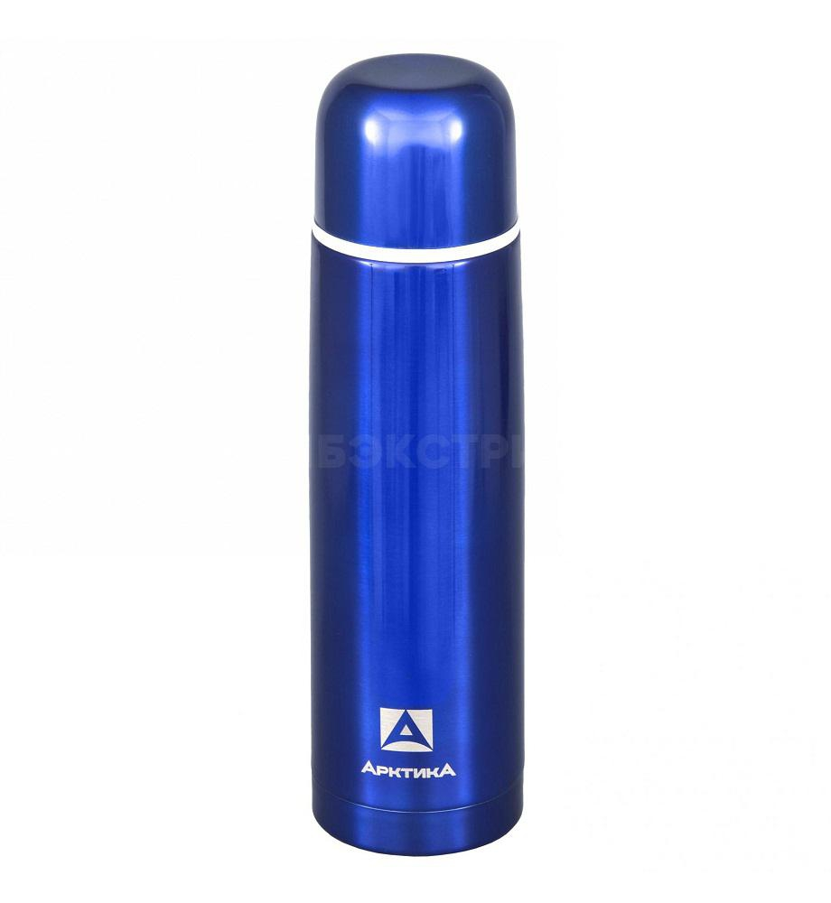 Термос АРКТИКА 102-1000 1,0л узкое горло синий