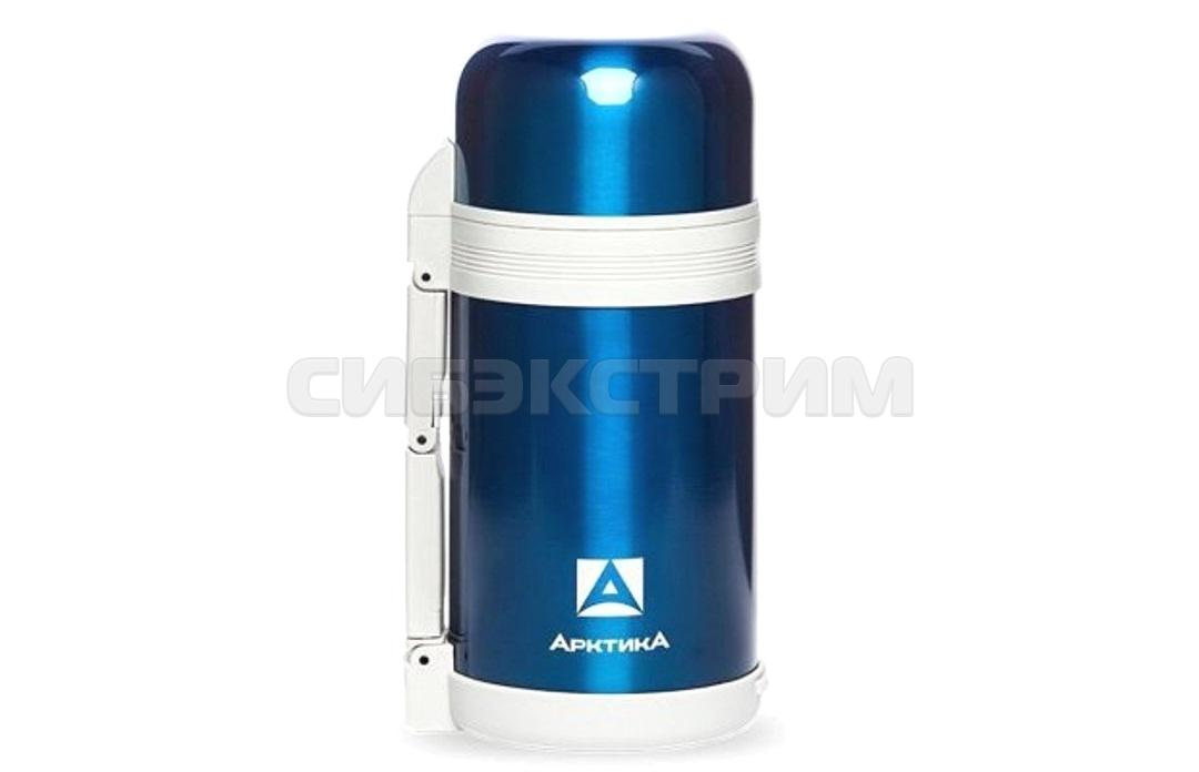 Термос АРКТИКА 202-1000 1,0л широкое горло синий