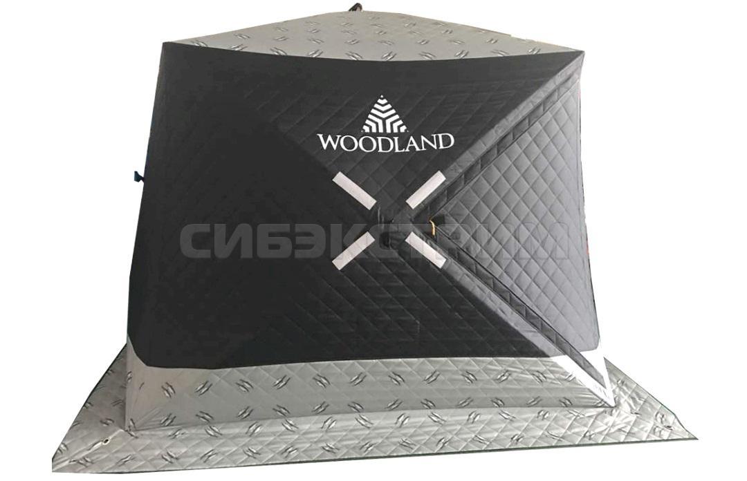 Палатка зимняя Woodland Ultra  утепленная 2050 х 2050 х 1900 мм