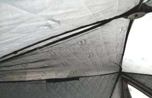 Палатка зимняя WOODLAND Ultra Comfort утепленная 2300 х 2300 х 2050 мм
