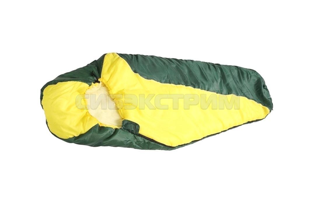 Спальный мешок Чайка Solo 250 зеленый