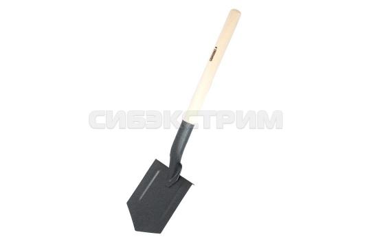 Лопата СЛЕДОПЫТ штыковая, деревянный черенок