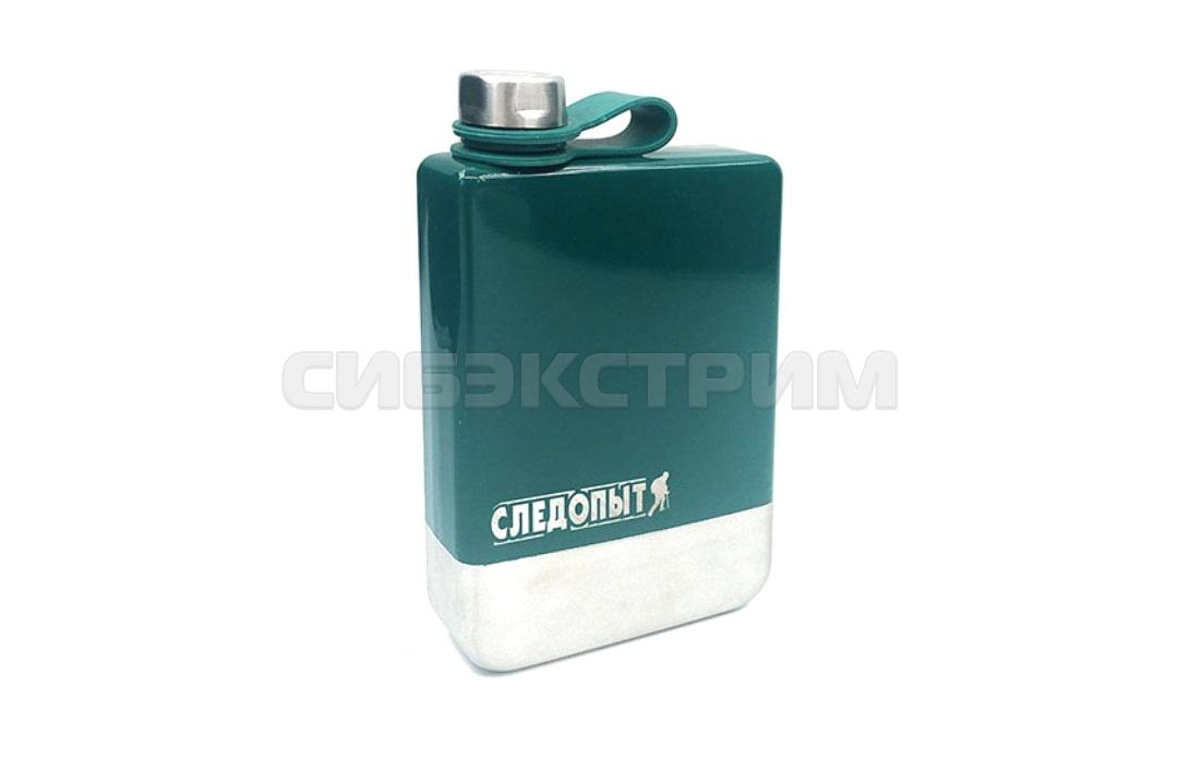 Фляжка СЛЕДОПЫТ Green Edition–Traveller 240мл цвет зеленый