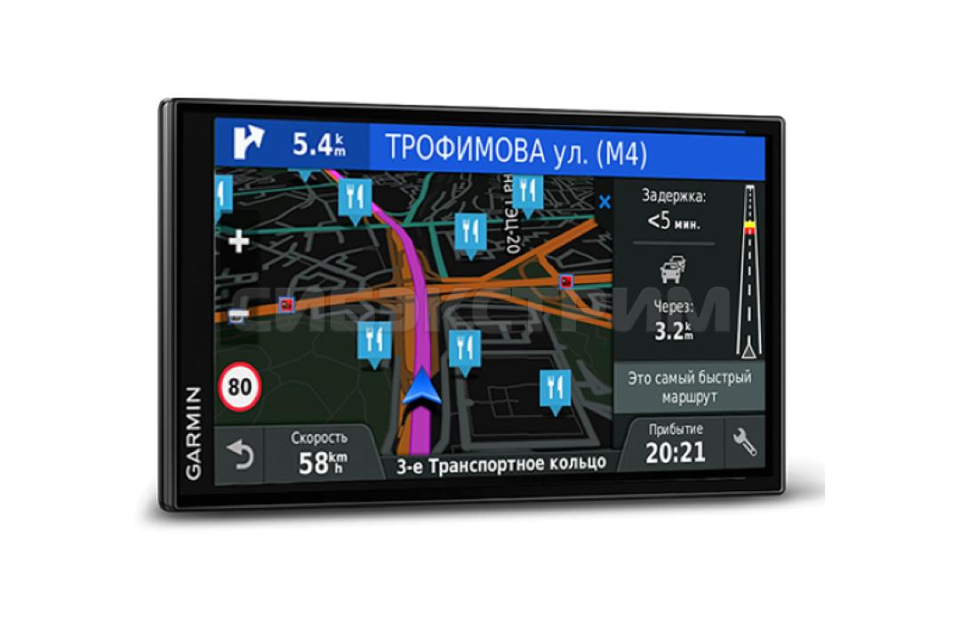 Автомобильный навигатор Garmin DriveSmart 61 RUS LMT