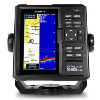 Картплоттер-эхолот Garmin GPSMap 585 Plus с трансдьюсером GT20
