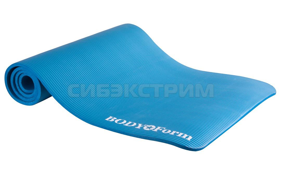 Коврик гимнастический Body Form BF-YM04 183*61*1,5 см (голубой)