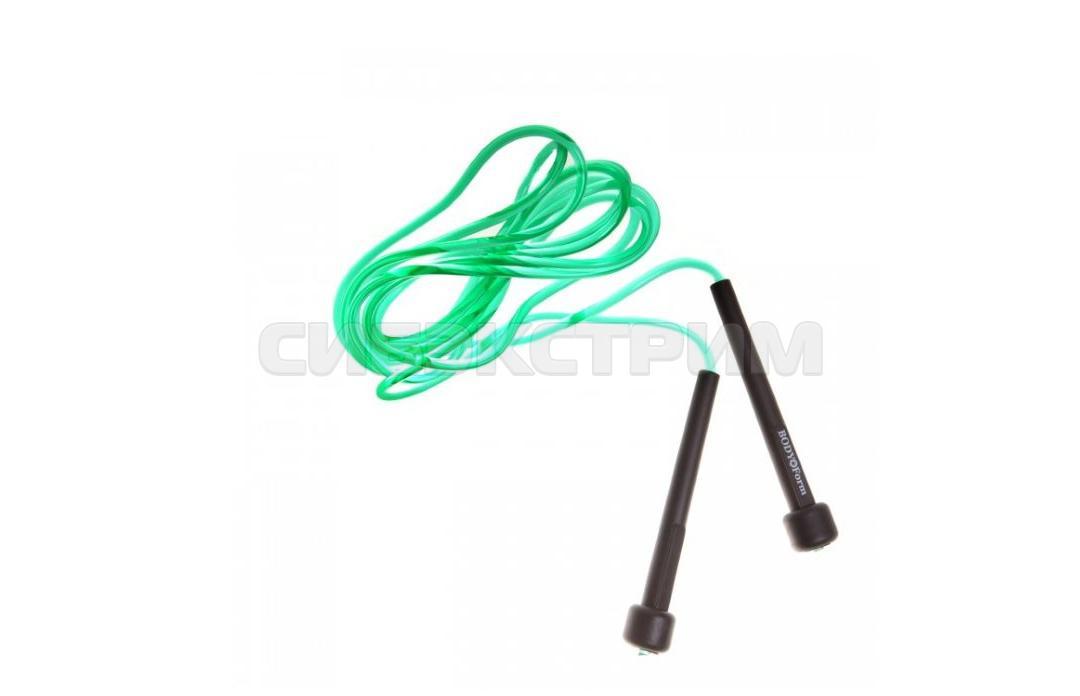 Скакалка Альфа Каприз BF-JR06 черно-зеленый