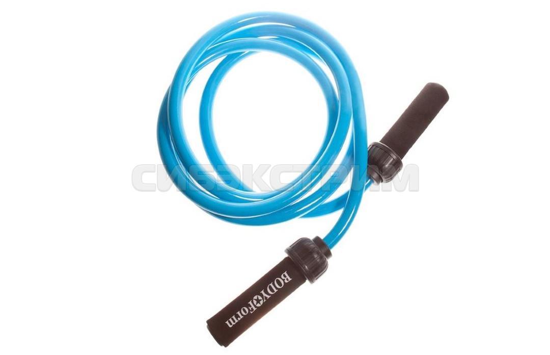 Скакалка утяжеленная Альфа Каприз BF-JRW01 1000 гр. blue