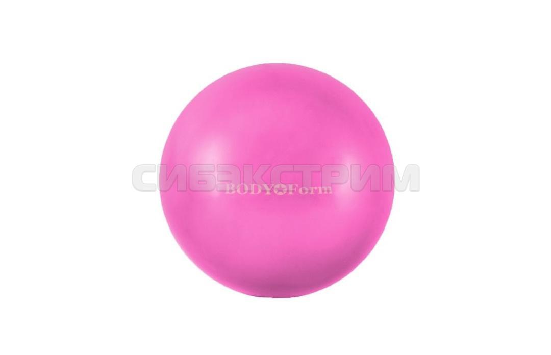 Мяч гимнастический Альфа Каприз BF-GB01M d18 см мини розовый