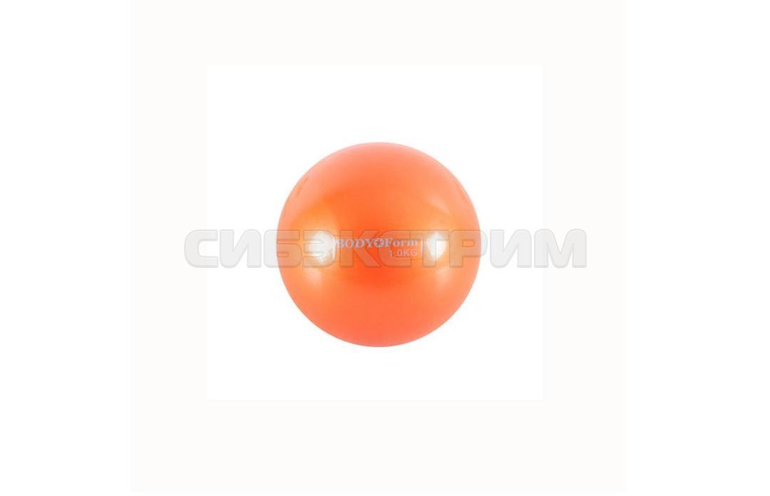 Мяч для пилатеса Альфа Каприз BF-TB01 1 кг. 10 см оранжевый