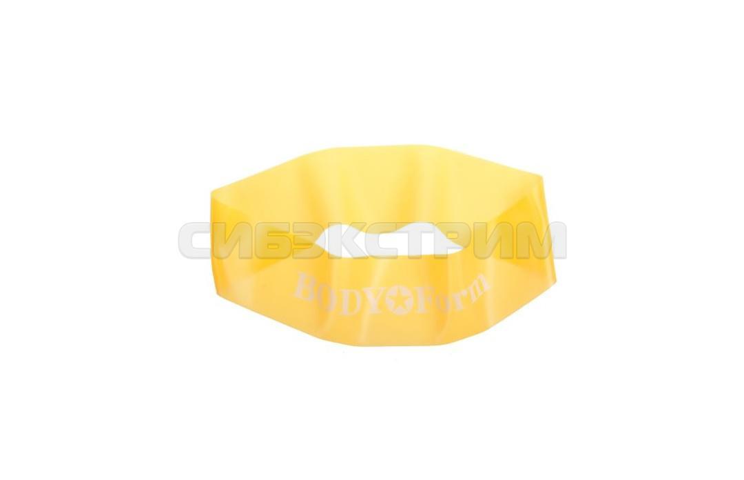 Эспандер резиновая петля Альфа Каприз BF-RL100 4кг. 60см желтый