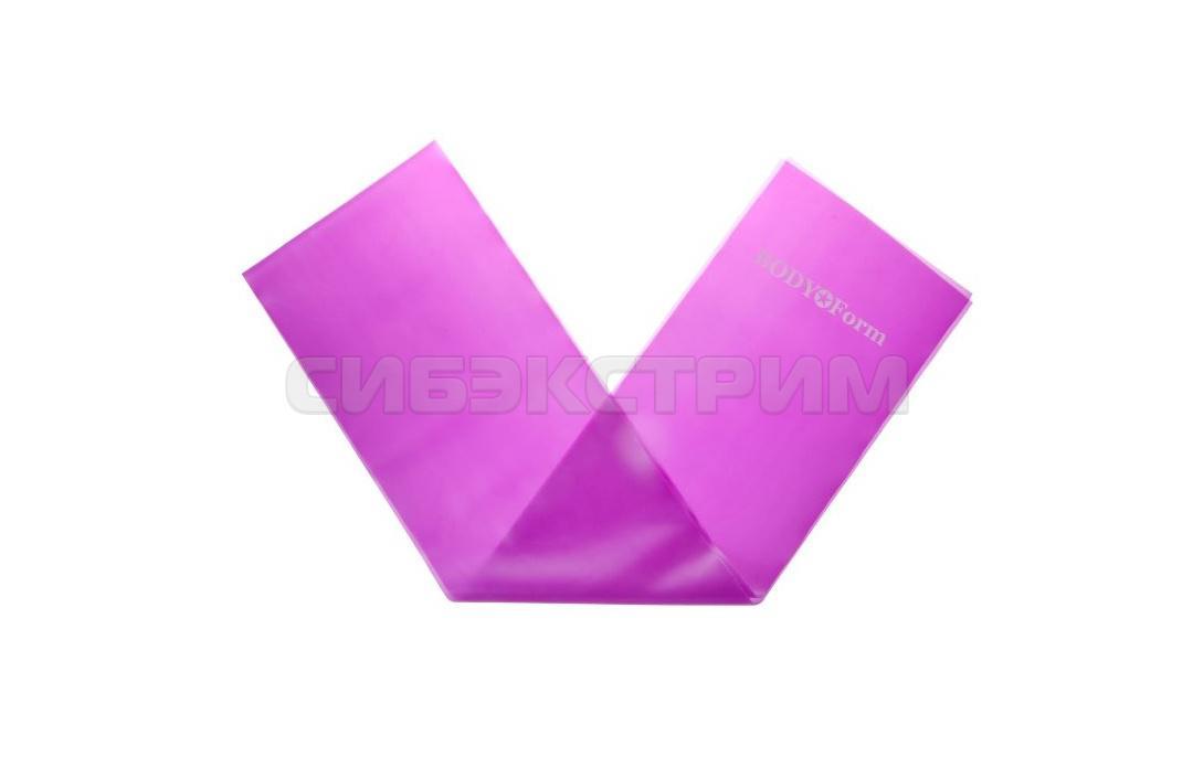 Эспандер латексный Альфа Каприз BF-ELL6-120 фиолетовый