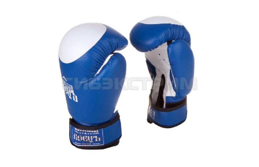 Перчатки боксерские Боецъ BBG-01, иск.кожа, blue