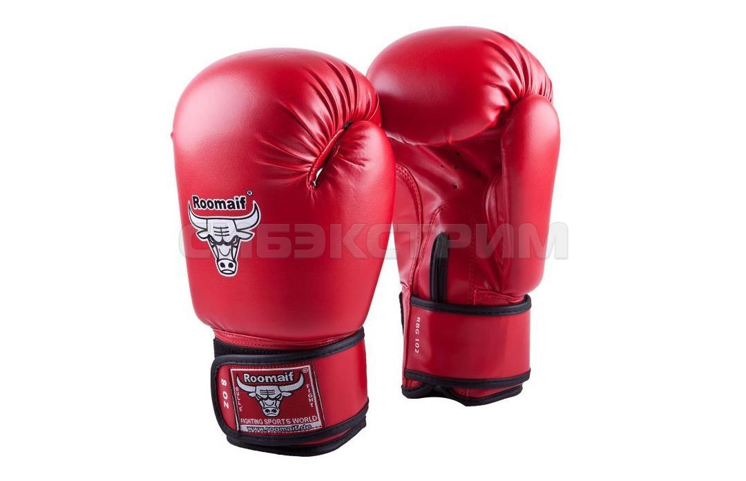 Боксерские перчатки RBG-102 иск.кожа Dx Red