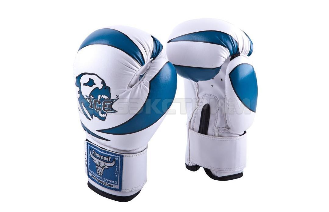 Боксерские перчатки RBG-172 PU 3G иск.кожа Blue детские
