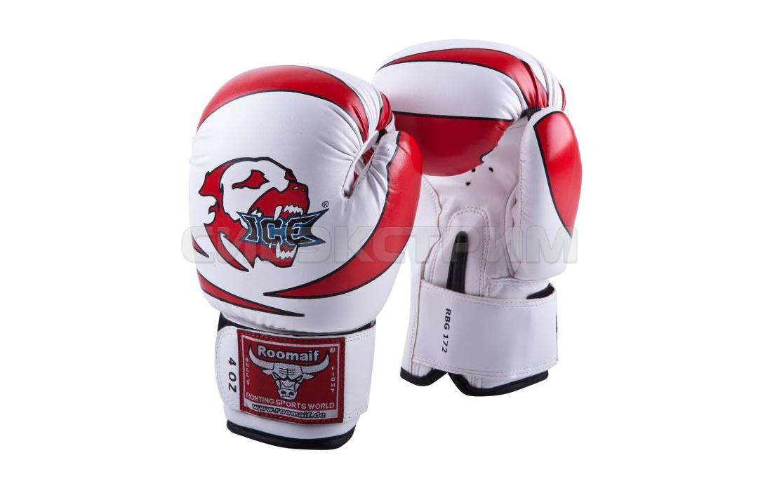 Боксерские перчатки RBG-172 PU 3G иск.кожа Red детские